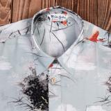1937 Roamer Shirt Short sleeve Hapuna grey