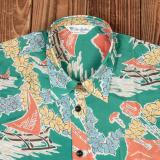 1937 Roamer Shirt Short sleeve Hapuna green