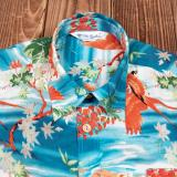 1937 Roamer Shirt Short sleeve Miyamato blue