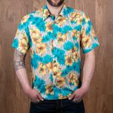 1937 Roamer Shirt Short sleeve Pulemoku blue