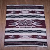1969 Chimayo blanket red