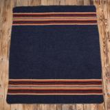 1969 Denakatee wool blanket navy