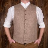 1923 Buccaneer Vest herringbone light brown