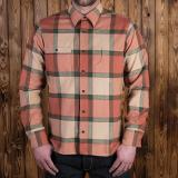 1937 Roamer Shirt flannel orange - Odds & Ends