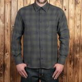 1937 Roamer Shirt oliv check flannel - Odds&Ends