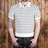 1954 Polo Shirt navy striped
