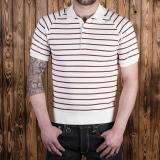 1954 Polo Shirt red striped