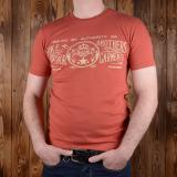 1964 Sports Tee Elephant rusty red