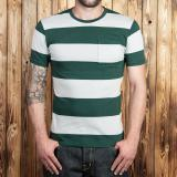 1964 Sports Tee green striped