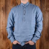1923 Buccaneer Shirt light blue linen