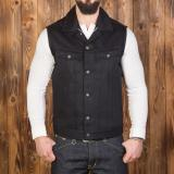 1963 Roamer Vest 13oz pitch black