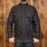 1966 Explorer Jacket waxed navy - Odds & Ends