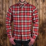 1937 Roamer Shirt flannel red