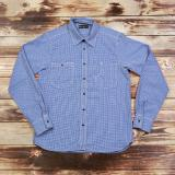 1937 Roamer Shirt mohawk check blue Odds & Ends