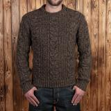 1946 Mountaineer Sweater brown melange