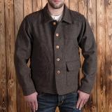 1942 Hunting Jacket brown melange wool