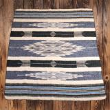 1969 Chimayo blanket blue