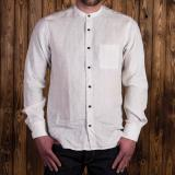 1923 Buccanoy Shirt white blue linen