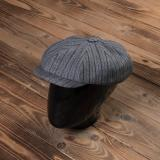 1928 Newsboy Cap Swedish Stripes