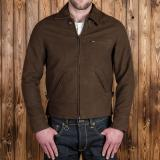 1932 Roadster Jacket Moleskin chocolate brown