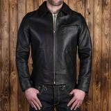 1932 Roadster Jacket black leather