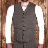 1905 Hauler Vest Seattle brown
