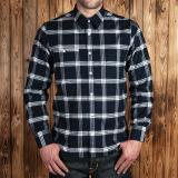 1937 Roamer Shirt Dugway blue - Odds&Ends
