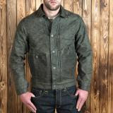 1908 Miner Jacket waxed oliv