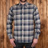1937 Roamer Shirt dark blue flannel