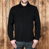 1943 CPO Shirt black wool