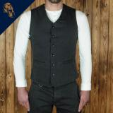 1905 Hauler Vest steel grey denim