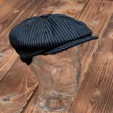 1928 Newsboy Cap black wabash