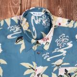 1937 Roamer Shirt Short sleeve Maohu blue