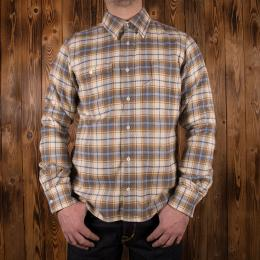1937 Roamer Shirt dark oliv flannel