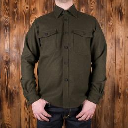 1943 CPO Shirt oliv wool
