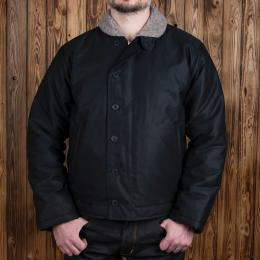 1944 N1 Deck Jacket waxed navy